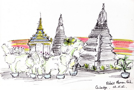 Palais à Phnom Penh