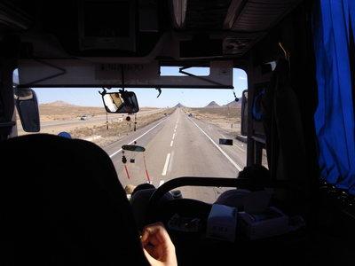 En route pour Esfahan