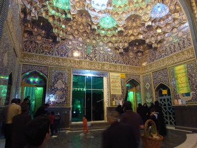 Interieur de la mosquee