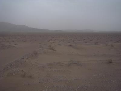 5 heures de traversee de desert