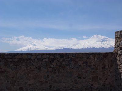 Mont Ararat vu du monastere