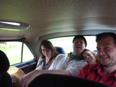 Valerie, Jacob, Petra et moi