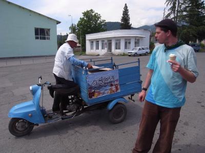 Vendeur de glaces