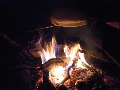 Hmm, un bon feu de camp
