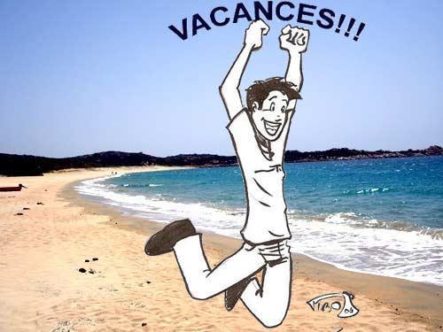 Bon courage à ceux qui bossent et bonnes vacances aux autres!